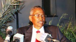 Farole running for the Somalia 2016 presidency